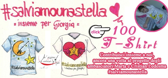 100 T-Shirt per Giorgia - #salviamounastella